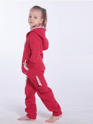 Детский комбинезон Onesie Original красный KOC16 (2)
