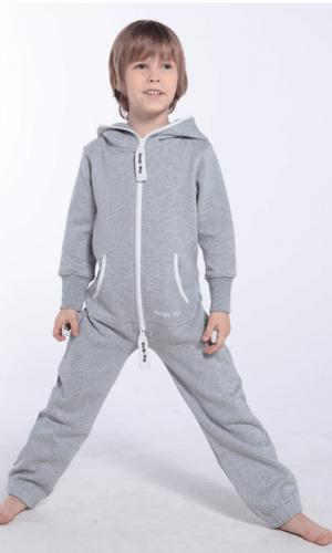 Детский комбинезон Onesie Original серый KOC10 2