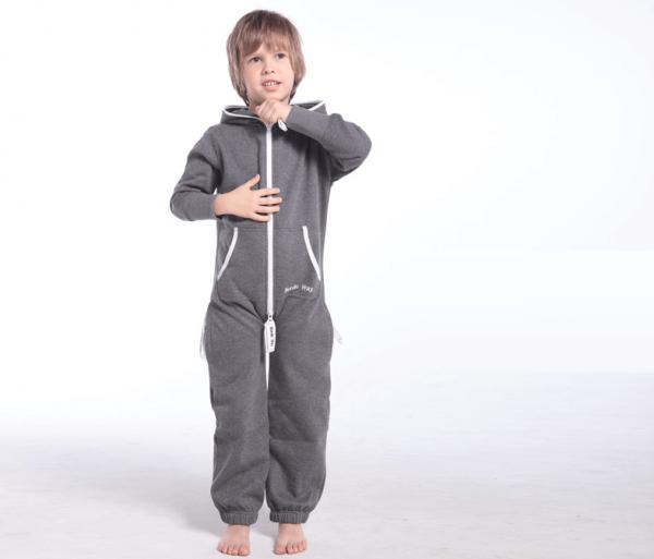 Детский комбинезон Onesie Original темно-серый KOC06