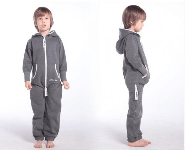 Детский комбинезон Onesie Original темно-серый KOC061