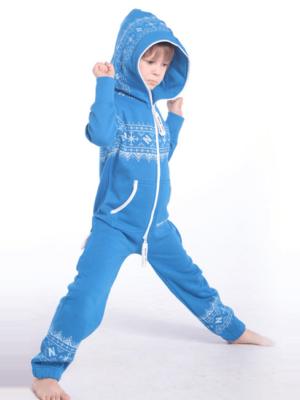 Детский комбинезон Winter Print синий K0108 1