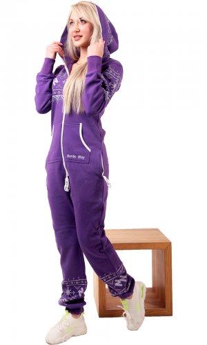 Комбинезон Winter Print Purple
