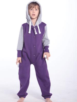 Комбинезон детский Baseball фиолетовый KBB04 5