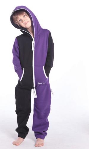 Комбинезон детский Joker черный+фиолетовый K1504 1