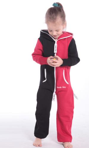 Комбинезон детский Joker черный+красный K1502 1