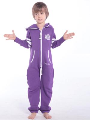 Комбинезон детский фиолетовый College KC04 4