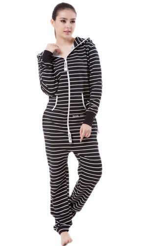 Комбинезон Stripe black and white