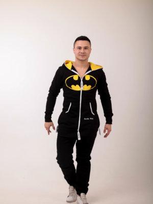 Комбинезон Nordic Way Batman черный, хлопковый