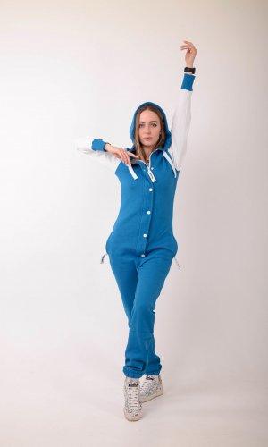 Комбинезон Nordic Way Baseball blue голубой