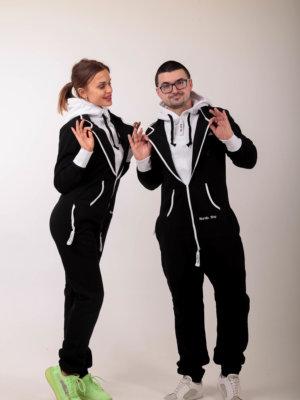 Комбинезон Nordic Way Suit черный женский